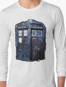 space tardis Long Sleeve T-Shirt
