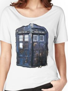 space tardis Women's Relaxed Fit T-Shirt