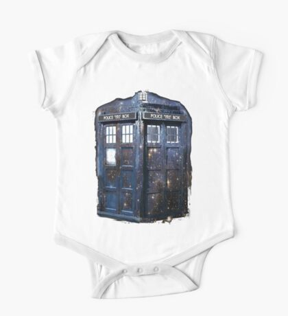 space tardis One Piece - Short Sleeve