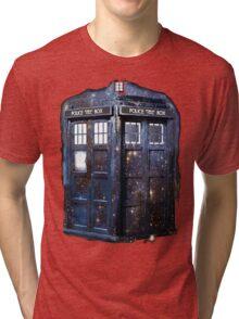 space tardis Tri-blend T-Shirt