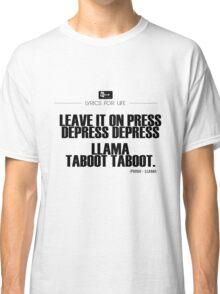 Phish - Llama Lyric quote Classic T-Shirt