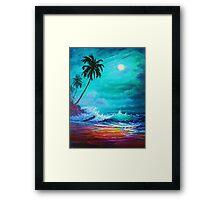 Starry Night Solitude (Sweet Dreams) Framed Print