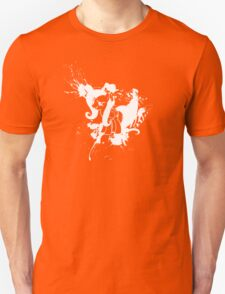 Fluttershy Ink Splatter Reverse Unisex T-Shirt