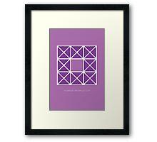 Design 42 Framed Print