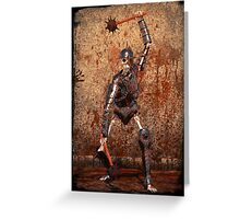 Undead Warrior Greeting Card