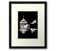 Peagus Cage Framed Print