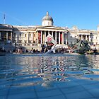 Trafalgar Square by Catinabucket