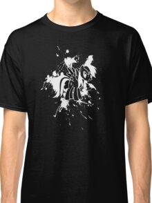 Rainbow Dash Ink Splatter Reverse Classic T-Shirt