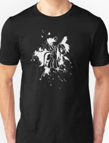 Rainbow Dash Ink Splatter Reverse T-Shirt
