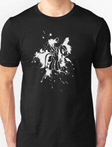 Rainbow Dash Ink Splatter Reverse T-Shirt