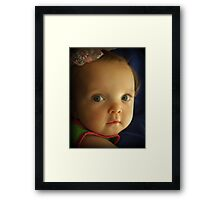 I'm Ready for My Close-Up. . . Framed Print