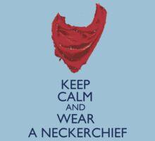 Keep Calm and Wear a Neckerchief by fangeek