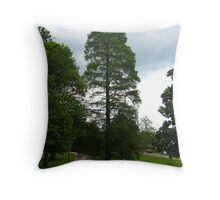 My Favorite Tree Is Green Again Throw Pillow