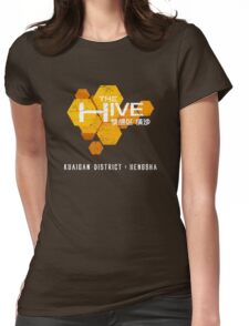 The Hive (worn look) Womens Fitted T-Shirt