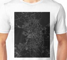 Saint Petersburg map Russia Unisex T-Shirt