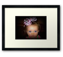 WHO? ME? No Way! Framed Print