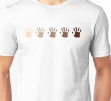 Hand colors Unisex T-Shirt