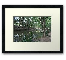 Beside A Country Road, Dunbible, NSW Framed Print