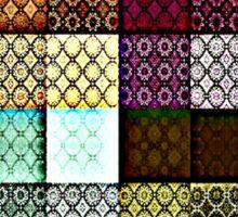The Weave, Patchwork Quilt Sticker