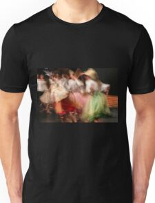 A group of Dancers in motion  Unisex T-Shirt