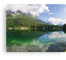 Hintersee, Berchtesgadener Land Canvas Print
