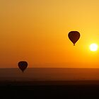 ballooning over the Masai Mara by LSPJS