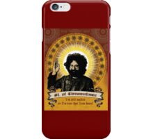 Jerry Garcia - Saint of Circumstance iPhone Case/Skin