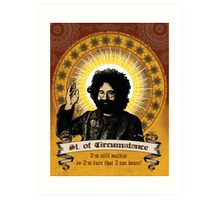 Jerry Garcia - Saint of Circumstance Art Print