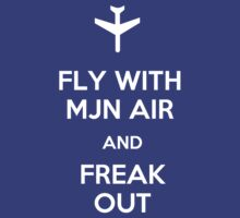 FLY WITH MJN AIR AND FREAK OUT by SallySparrowFTW