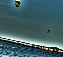 Kite Surfing by AnimusArt