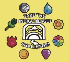 Indigo League Kids Tee