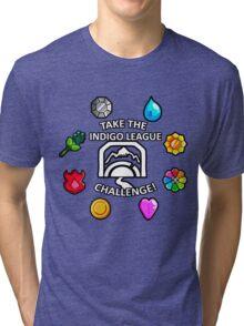 Indigo League Tri-blend T-Shirt