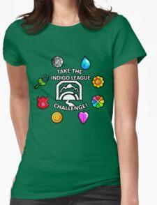 Indigo League Womens Fitted T-Shirt