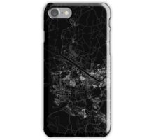 Seoul map South Korea iPhone Case/Skin