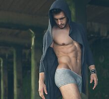 Sexy Male Model, Andrew by GrahamMartin