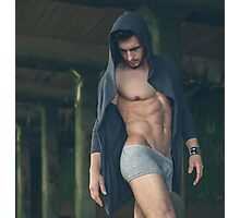 Sexy Male Model, Andrew Photographic Print