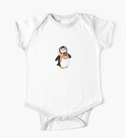 Babywearing Mama Penguin One Piece - Short Sleeve