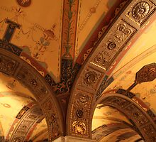 Biltmore Hotel Ceiling, Los Angeles by Jane McDougall