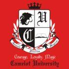 Camelot University (Big, B&W) by KitsuneDesigns