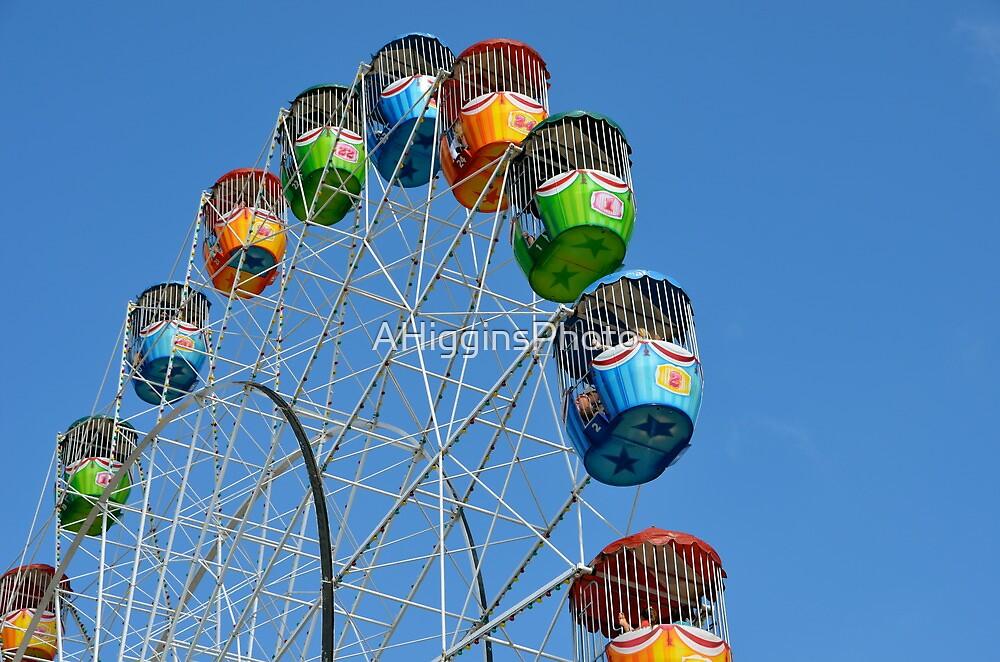 Ferris Wheel by AHigginsPhoto