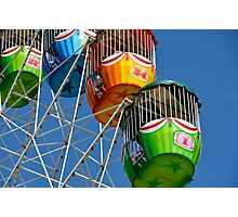 Ferris Wheel detail Photographic Print
