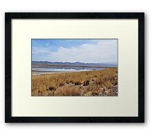 Wilcox Dry Lake Framed Print