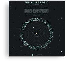The Kuiper belt Canvas Print