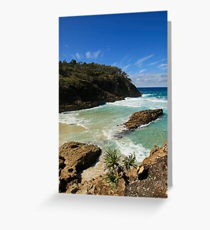 Blue Skies and Clear Water Greeting Card