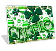 Celtic Football Champions Design Laptop Skin