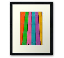 Big Slide Framed Print