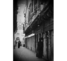 streets of Venice Photographic Print