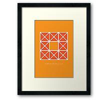 Design 45 Framed Print