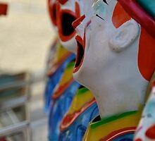 Clown Row by AHigginsPhoto