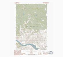 USGS Topo Map Washington State WA Armstrong Creek 239860 1989 24000 Kids Tee